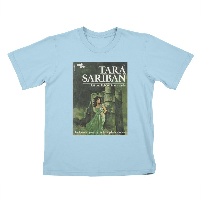 Tara Castle Kids T-Shirt by bloodymurder's Artist Shop
