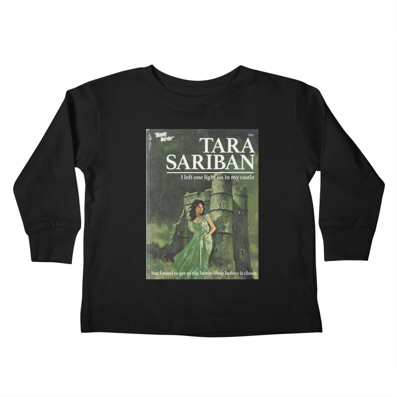 Tara Castle Kids Toddler Longsleeve T-Shirt by Bloody Murder's Artist Shop