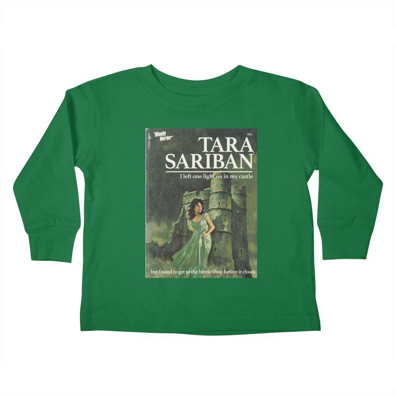 Tara Castle Kids Toddler Longsleeve T-Shirt by bloodymurder's Artist Shop