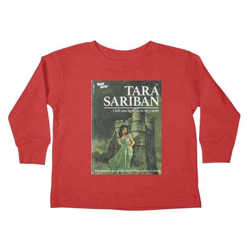 Tara Castle Kids Toddler Longsleeve T-Shirt by Bloody Murder's Artist Shop