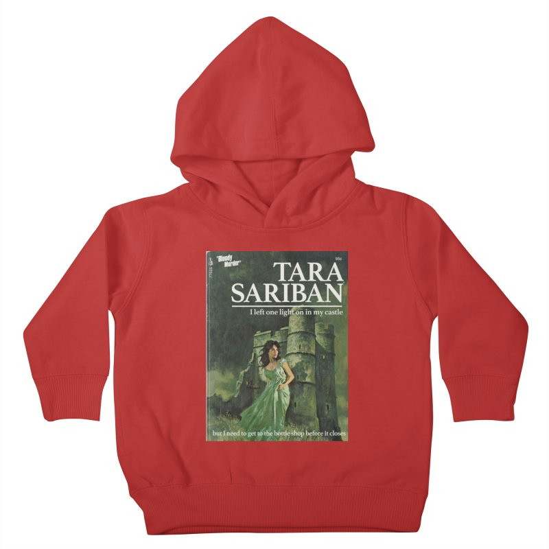 Tara Castle Kids Toddler Pullover Hoody by Bloody Murder's Artist Shop