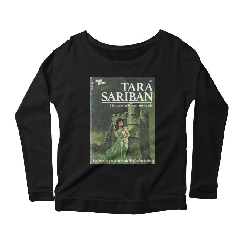 Tara Castle Women's Scoop Neck Longsleeve T-Shirt by Bloody Murder's Artist Shop