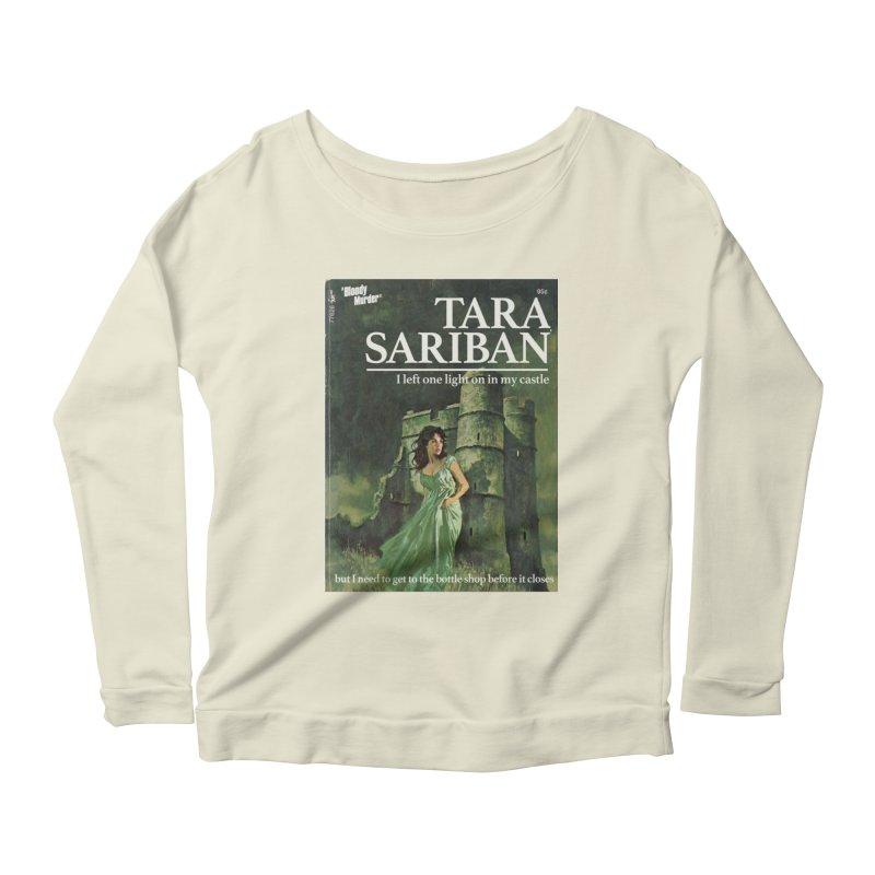 Tara Castle Women's Scoop Neck Longsleeve T-Shirt by bloodymurder's Artist Shop