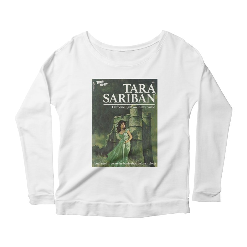 Tara Castle Women's Scoop Neck Longsleeve T-Shirt by bloodymurder's Artist Shop