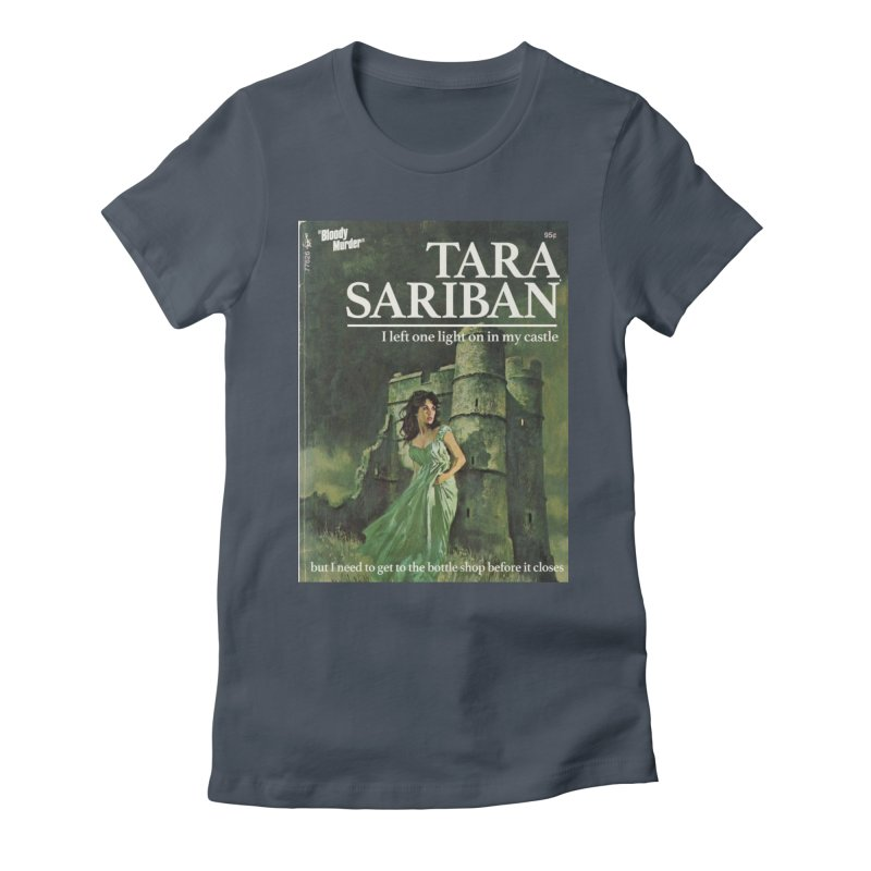 Tara Castle Women's T-Shirt by Bloody Murder's Artist Shop