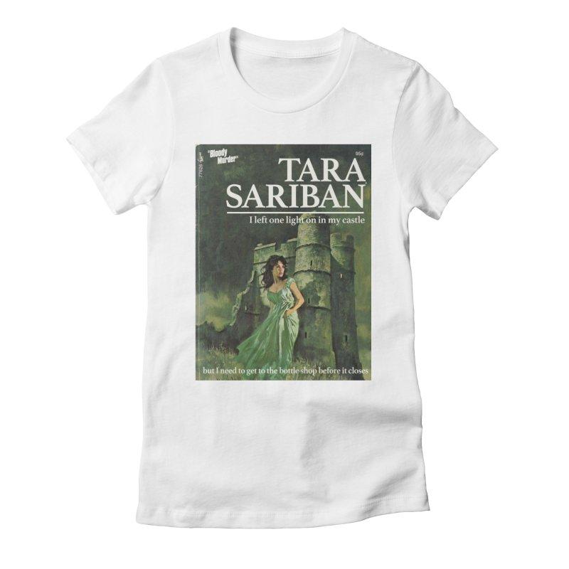 Tara Castle Women's Fitted T-Shirt by Bloody Murder's Artist Shop