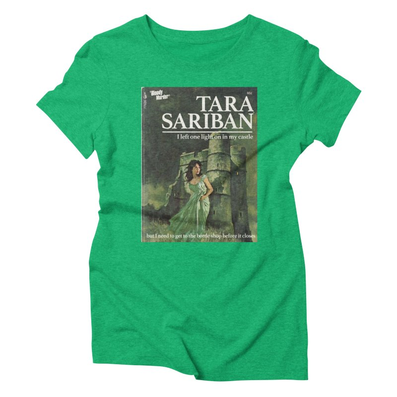 Tara Castle Women's Triblend T-Shirt by bloodymurder's Artist Shop