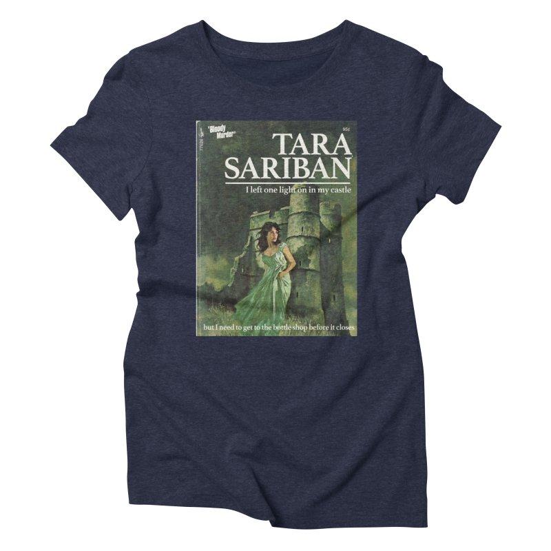 Tara Castle Women's Triblend T-Shirt by bloodymurder's Artist Shop