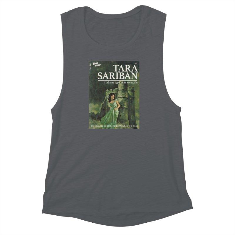 Tara Castle Women's Muscle Tank by bloodymurder's Artist Shop
