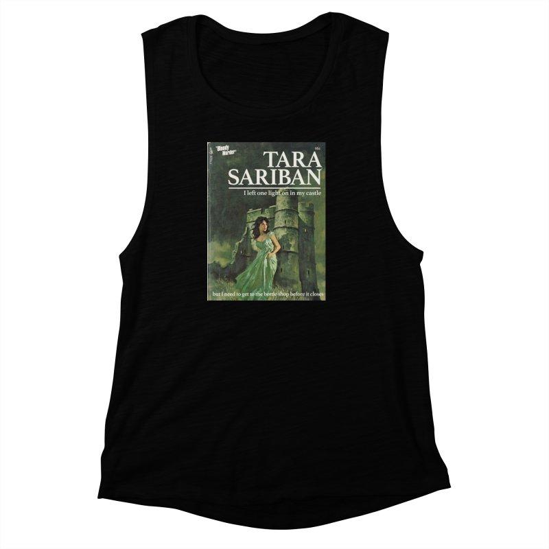 Tara Castle Women's Muscle Tank by Bloody Murder's Artist Shop