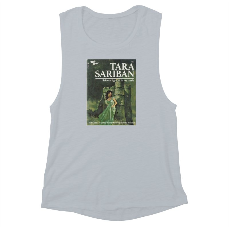 Tara Castle Women's Muscle Tank by bloodymurder's Artist Shop