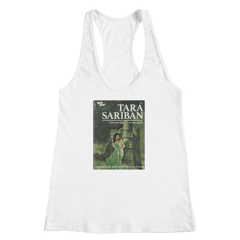 Tara Castle Women's Racerback Tank by bloodymurder's Artist Shop