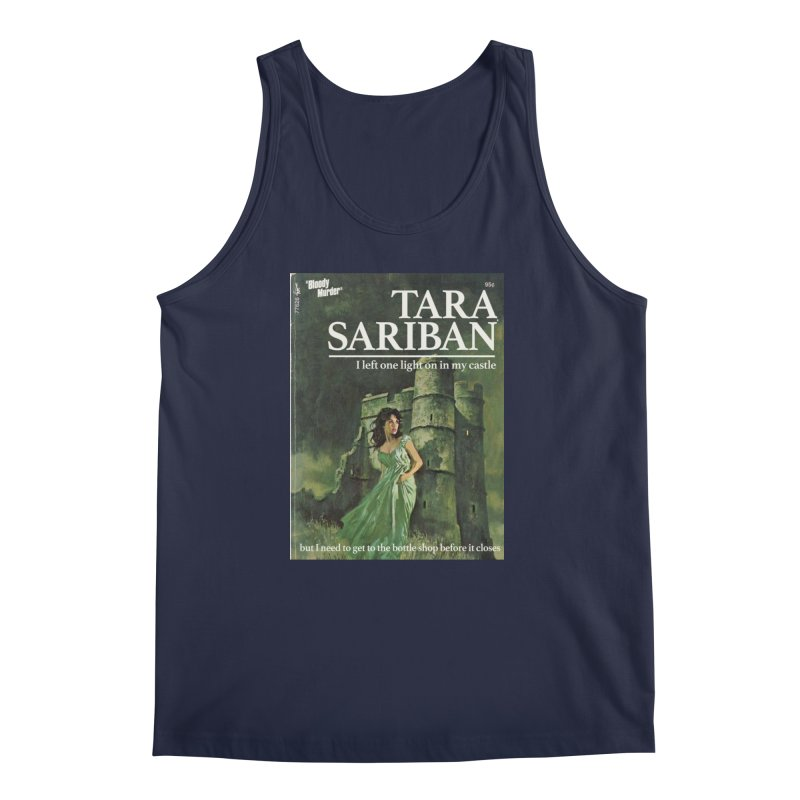 Tara Castle Men's Regular Tank by Bloody Murder's Artist Shop