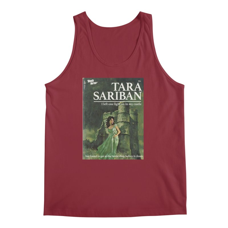 Tara Castle Men's Regular Tank by bloodymurder's Artist Shop
