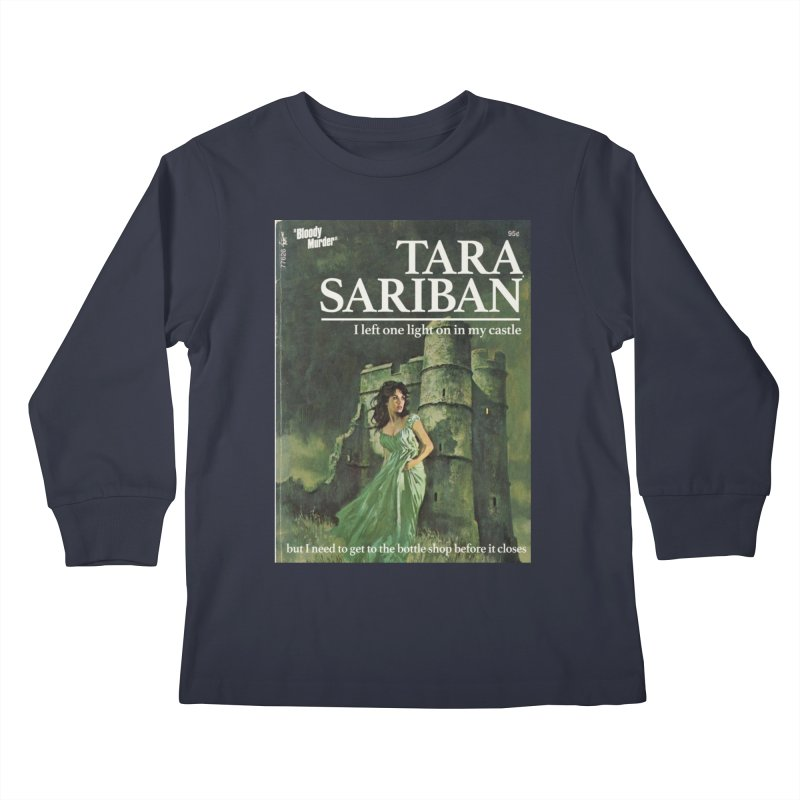 Tara Castle Kids Longsleeve T-Shirt by Bloody Murder's Artist Shop