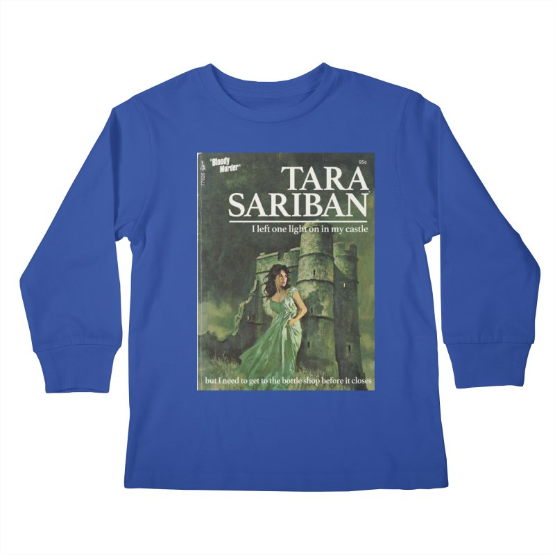 Tara Castle Kids Longsleeve T-Shirt by bloodymurder's Artist Shop
