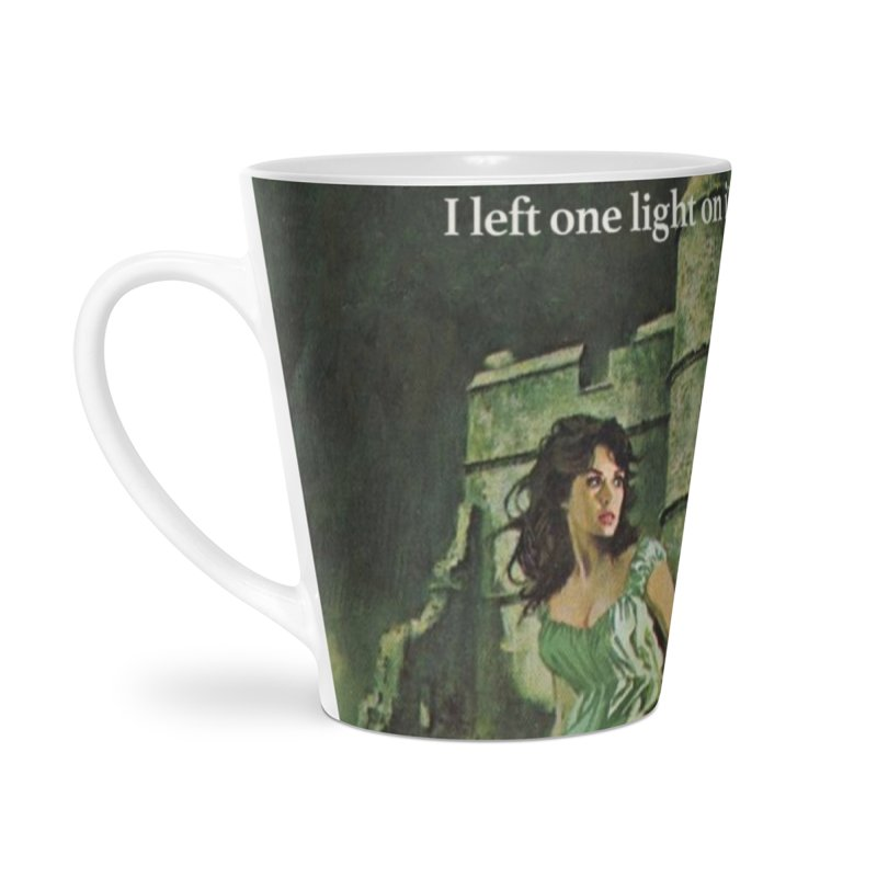 Tara Castle Accessories Latte Mug by Bloody Murder's Artist Shop