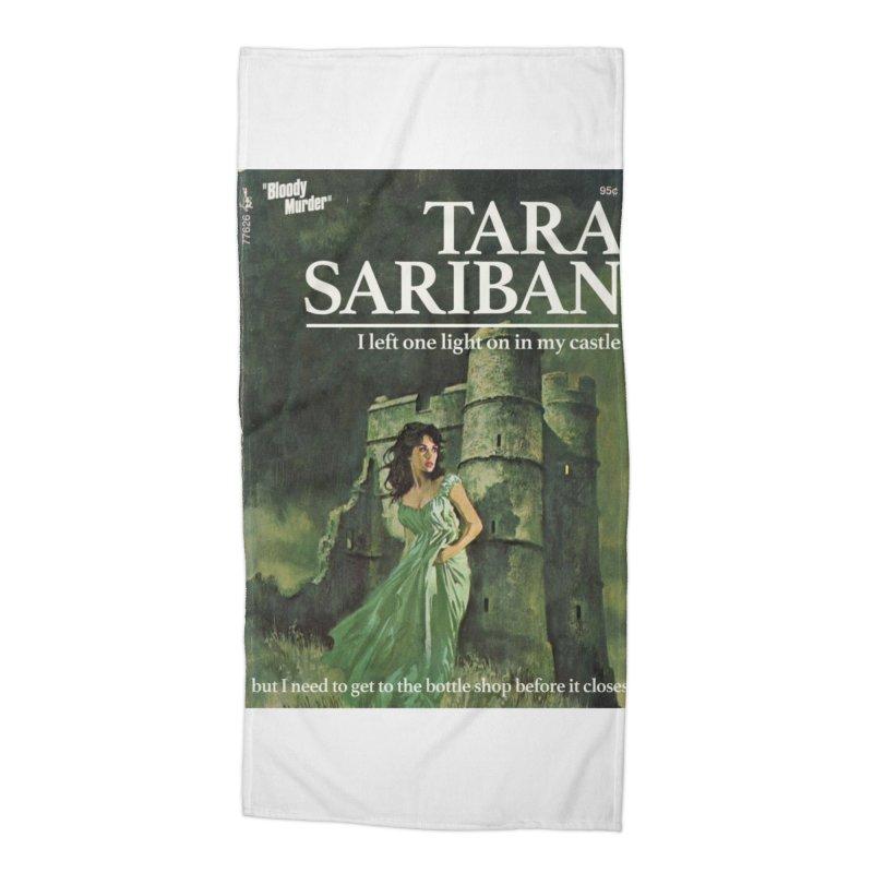 Tara Castle Accessories Beach Towel by bloodymurder's Artist Shop