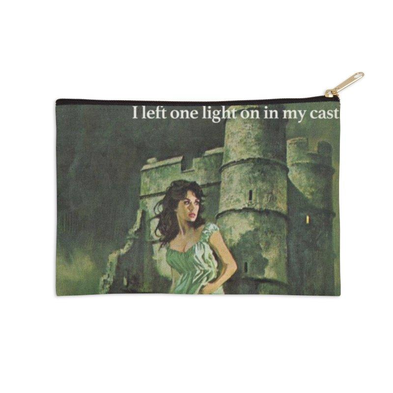 Tara Castle Accessories Zip Pouch by Bloody Murder's Artist Shop