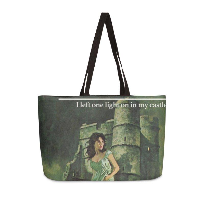 Tara Castle Accessories Weekender Bag Bag by Bloody Murder's Artist Shop