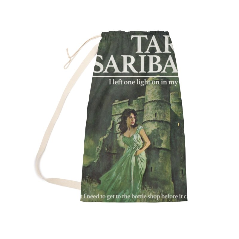 Tara Castle Accessories Laundry Bag Bag by Bloody Murder's Artist Shop