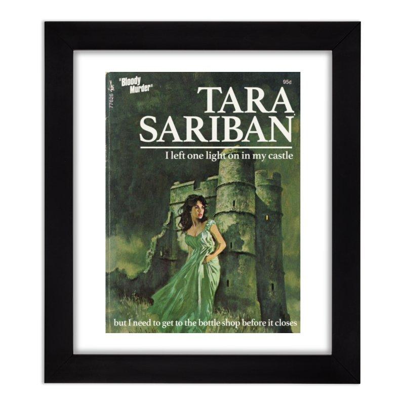 Tara Castle Home Framed Fine Art Print by Bloody Murder's Artist Shop