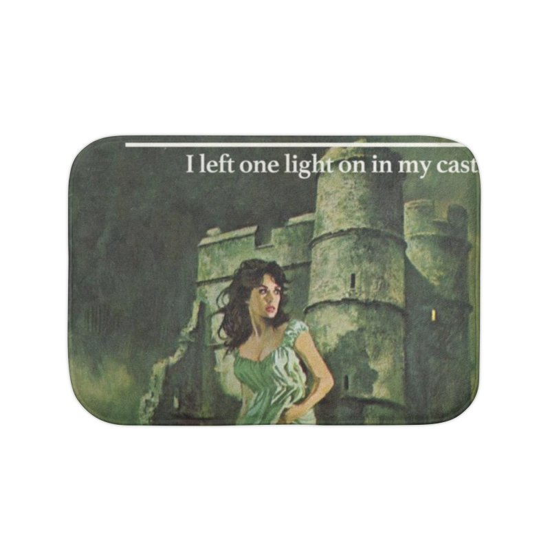 Tara Castle Home Bath Mat by Bloody Murder's Artist Shop