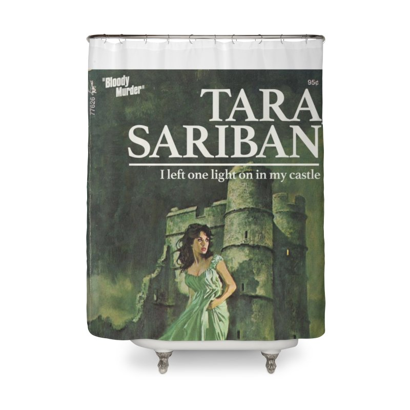 Tara Castle Home Shower Curtain by bloodymurder's Artist Shop
