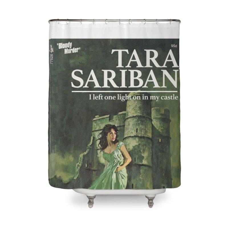 Tara Castle Home Shower Curtain by Bloody Murder's Artist Shop
