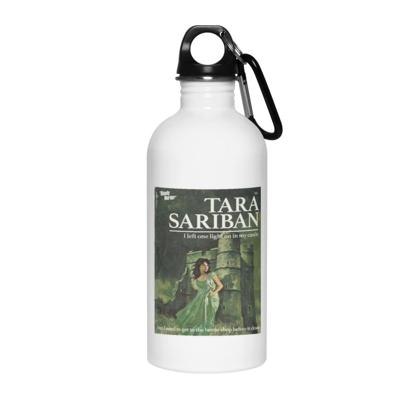 Tara Castle Accessories Water Bottle by bloodymurder's Artist Shop