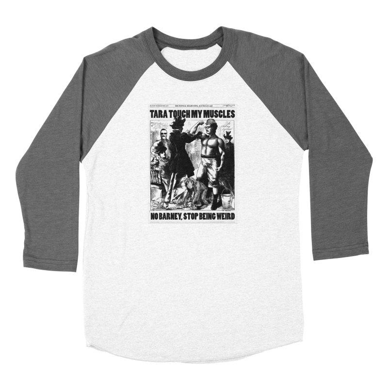 Tara Touch My Muscles Women's Longsleeve T-Shirt by Bloody Murder's Artist Shop