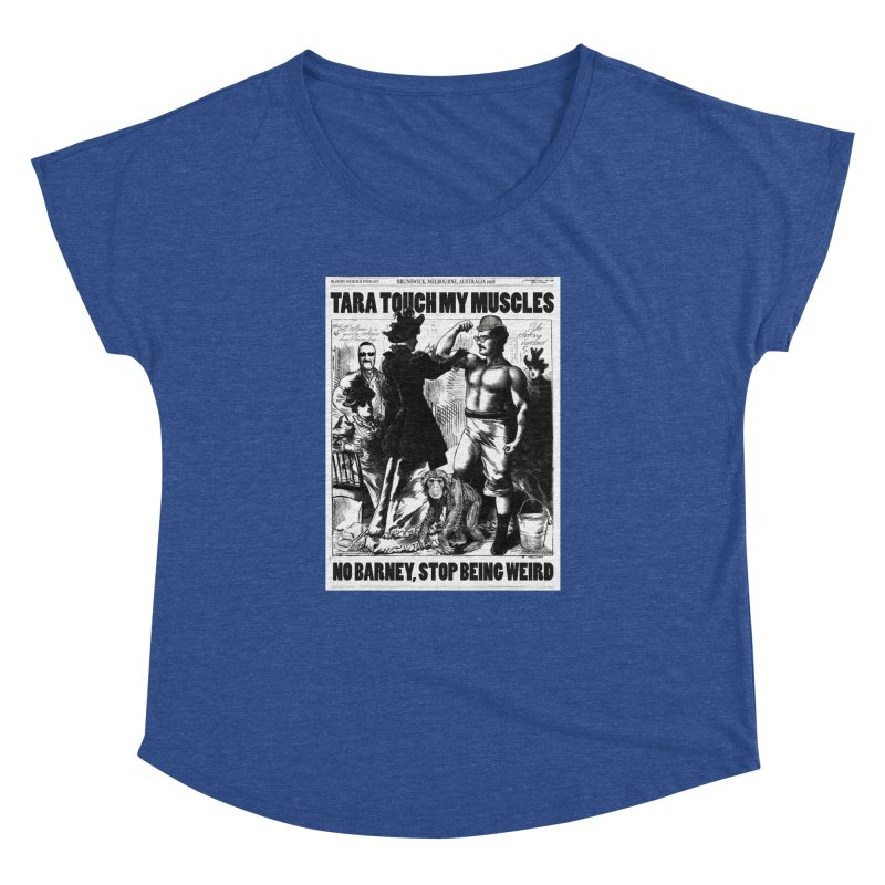 Tara Touch My Muscles Women's  by bloodymurder's Artist Shop