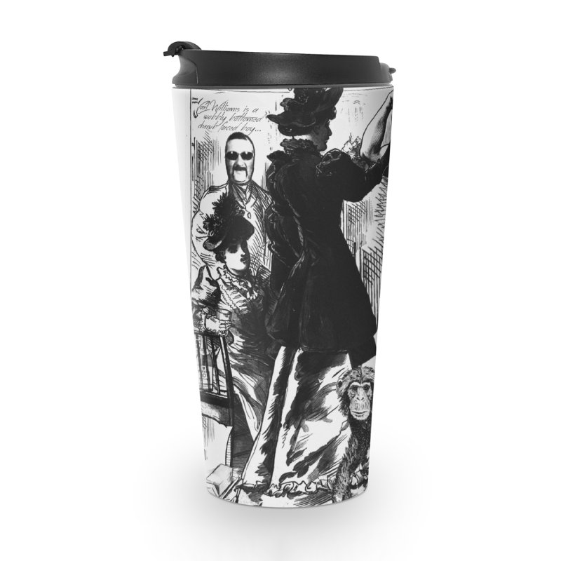 Tara Touch My Muscles Accessories Travel Mug by Bloody Murder's Artist Shop