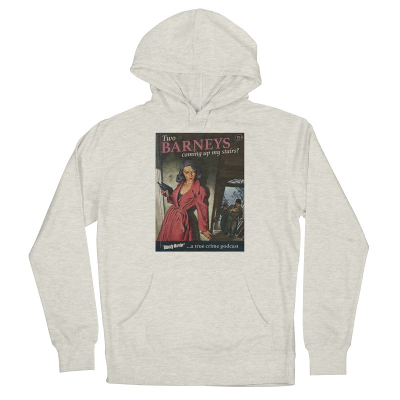 Two Barneys Coming Up My Stairs Men's Pullover Hoody by Bloody Murder's Artist Shop