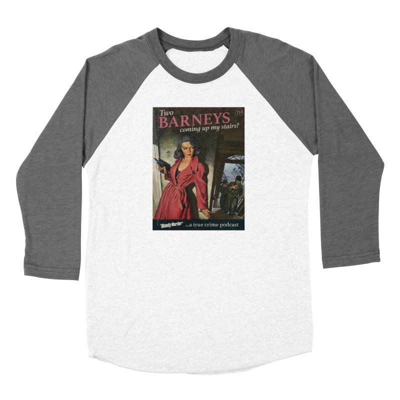 Two Barneys Coming Up My Stairs Women's Longsleeve T-Shirt by Bloody Murder's Artist Shop
