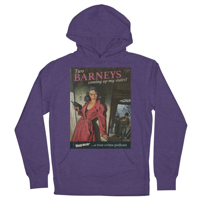 Two Barneys Coming Up My Stairs Women's French Terry Pullover Hoody by bloodymurder's Artist Shop