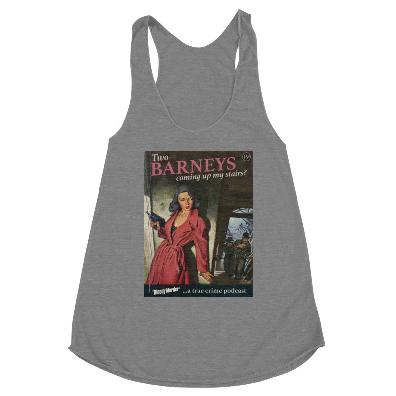 Two Barneys Coming Up My Stairs Women's Tank by Bloody Murder's Artist Shop
