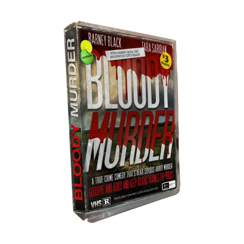 Bloody Murder VHS 1982 Men's Zip-Up Hoody by Bloody Murder's Artist Shop
