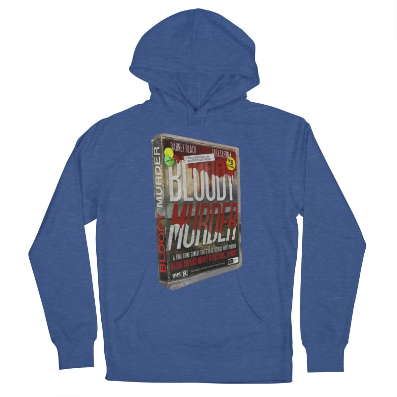 Bloody Murder VHS 1982 Women's French Terry Pullover Hoody by Bloody Murder's Artist Shop