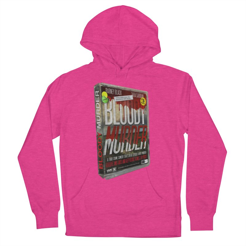 Bloody Murder VHS 1982 Women's French Terry Pullover Hoody by bloodymurder's Artist Shop