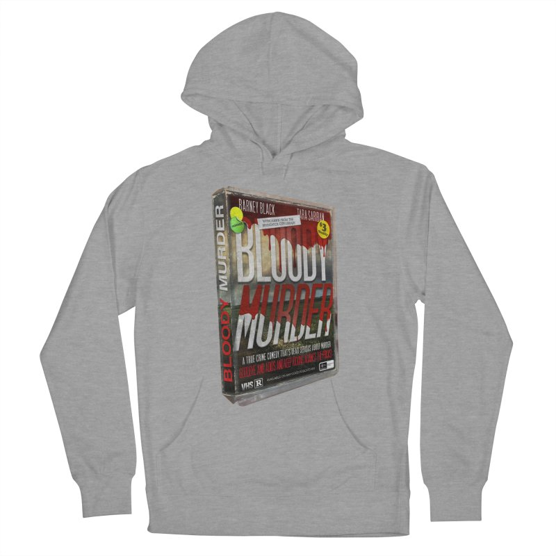 Bloody Murder VHS 1982 Men's French Terry Pullover Hoody by bloodymurder's Artist Shop