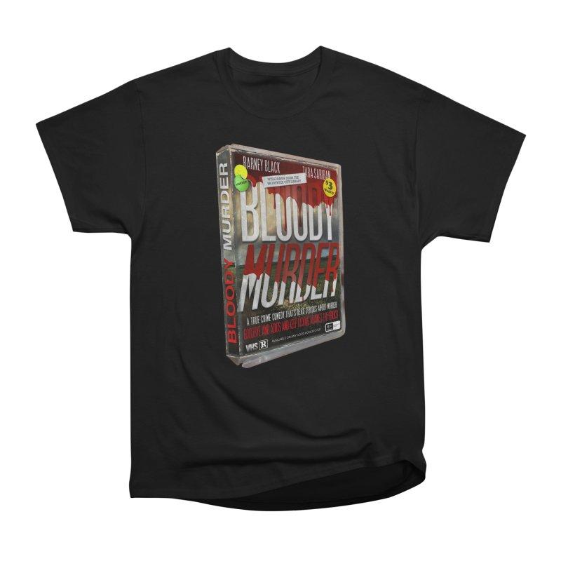 Bloody Murder VHS 1982 Men's Heavyweight T-Shirt by Bloody Murder's Artist Shop