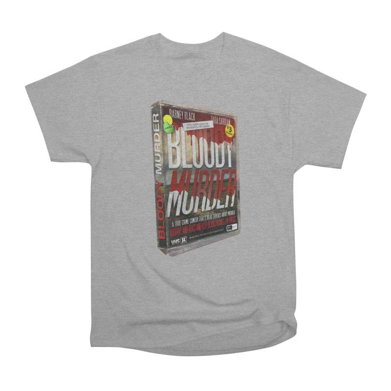 Bloody Murder VHS 1982 Men's Heavyweight T-Shirt by bloodymurder's Artist Shop