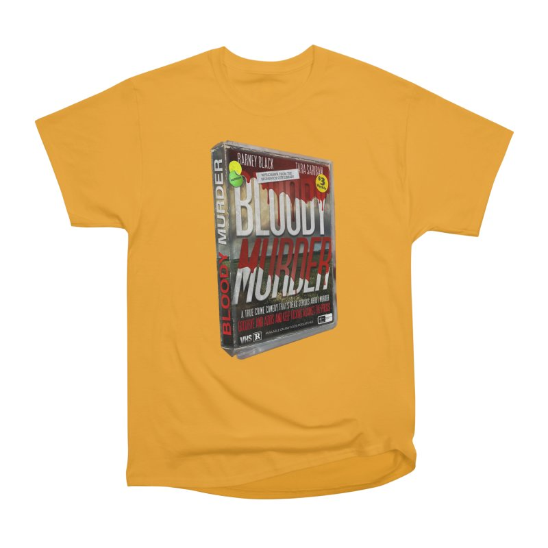 Bloody Murder VHS 1982 Men's Heavyweight T-Shirt by Bloody Murder's Artist Shop