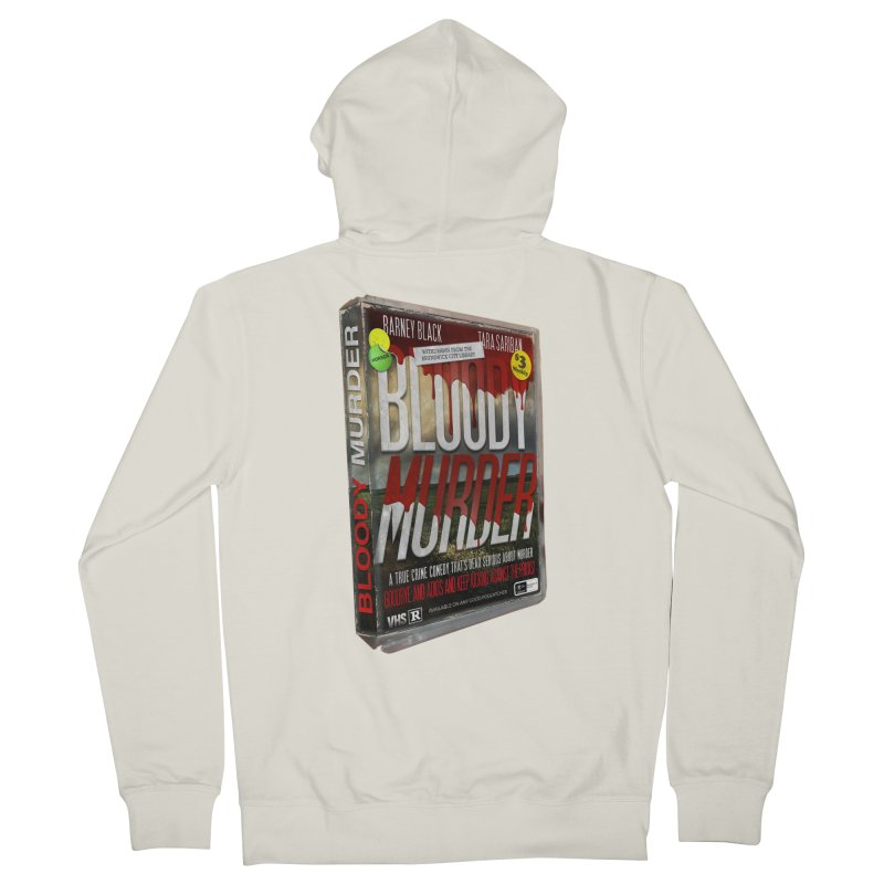 Bloody Murder VHS 1982 Women's French Terry Zip-Up Hoody by Bloody Murder's Artist Shop