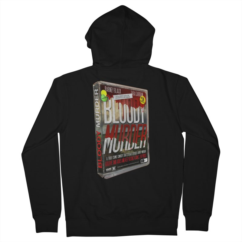 Bloody Murder VHS 1982 Men's French Terry Zip-Up Hoody by Bloody Murder's Artist Shop