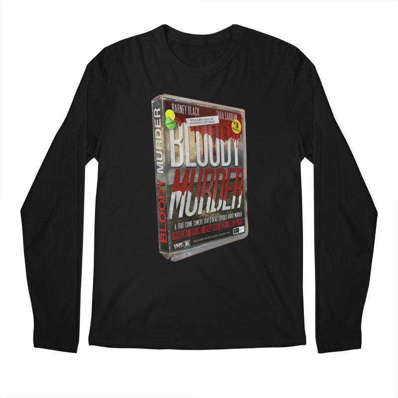 Bloody Murder VHS 1982 Men's Regular Longsleeve T-Shirt by Bloody Murder's Artist Shop
