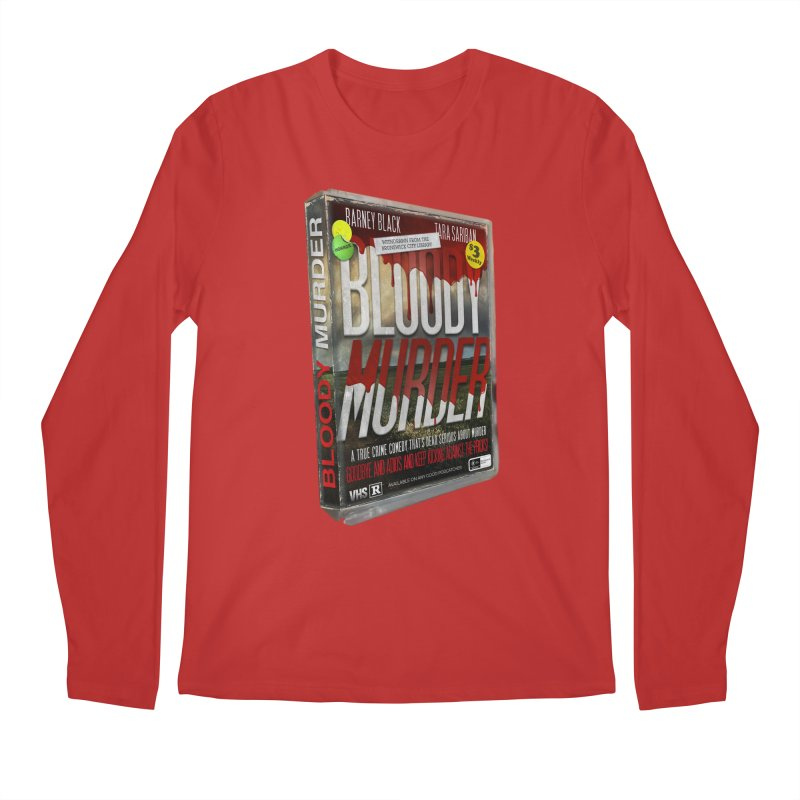 Bloody Murder VHS 1982 Men's Regular Longsleeve T-Shirt by bloodymurder's Artist Shop
