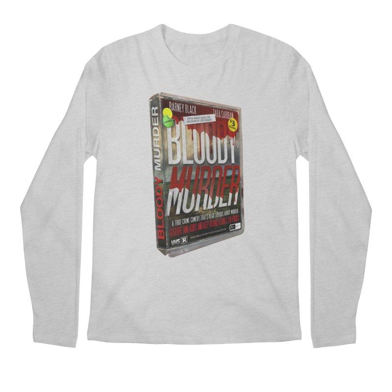 Bloody Murder VHS 1982 Men's Regular Longsleeve T-Shirt by bloodymurder's Artist Shop