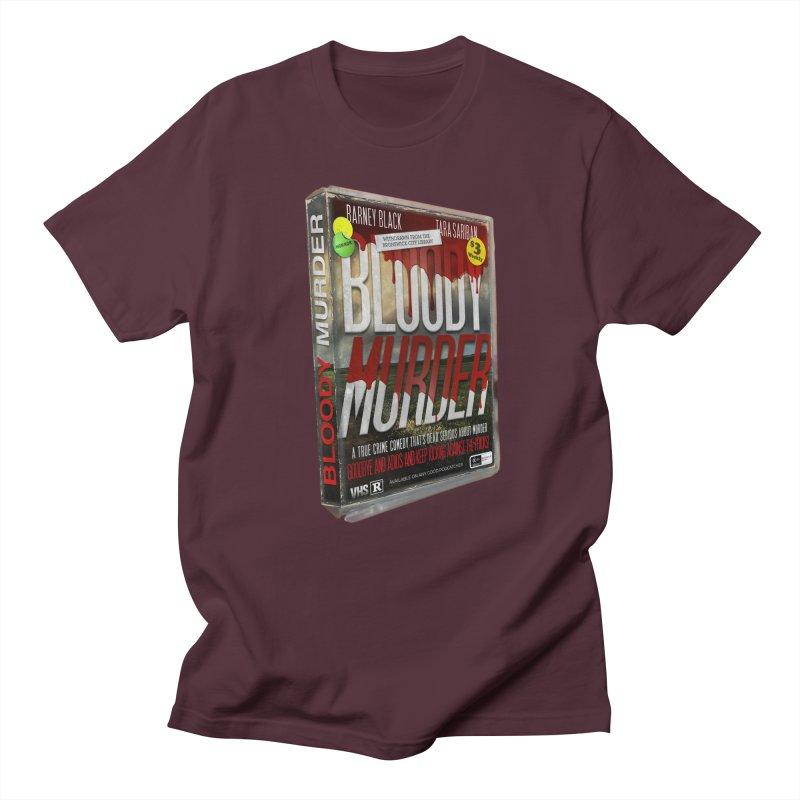 Bloody Murder VHS 1982 Men's Regular T-Shirt by bloodymurder's Artist Shop